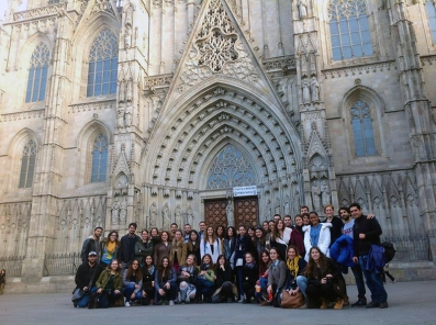 Grupo del Máster de Periodismo de Viajes, Universidad Autónoma de Barcelona, V Edición