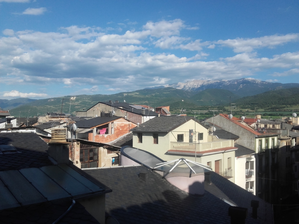 Festival de Picurt, vista desde el hotel NICE | María Antonieta García