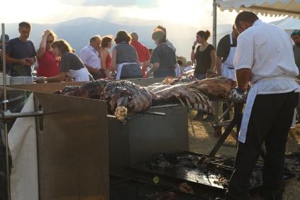 Festival de Picurt, sopar de la vaca|María Antonieta García